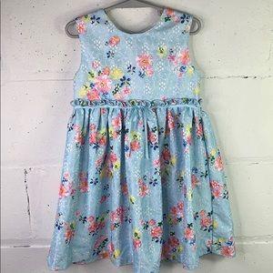 Blue Beri boulevard dress